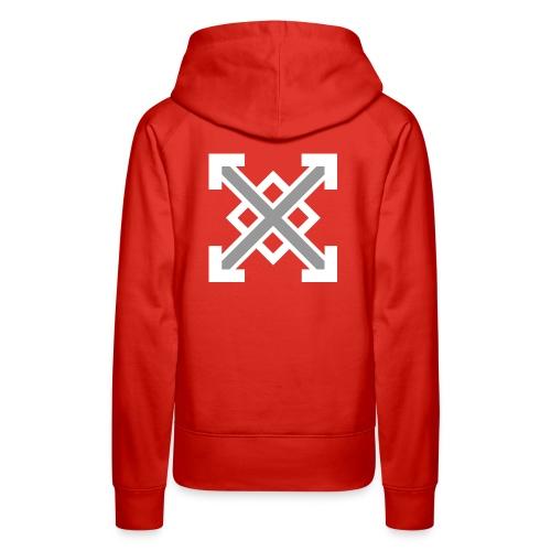 zegat1ve White - Women's Premium Hoodie