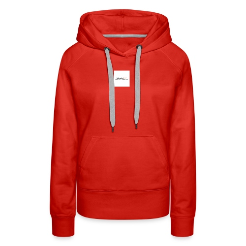 YouTube Channel - Women's Premium Hoodie