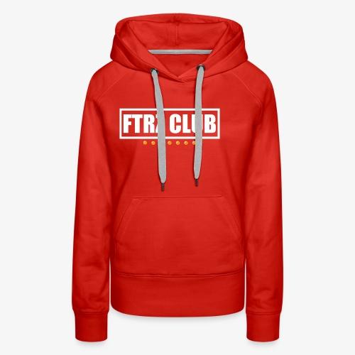 Ftrz Club Box Logo - Women's Premium Hoodie