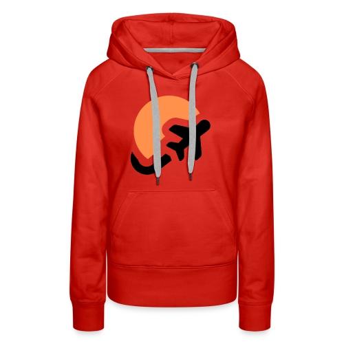 Airplane logo Icons Symbols Gift Shirt - Women's Premium Hoodie