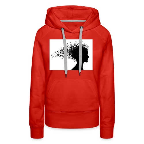 music through my head - Women's Premium Hoodie