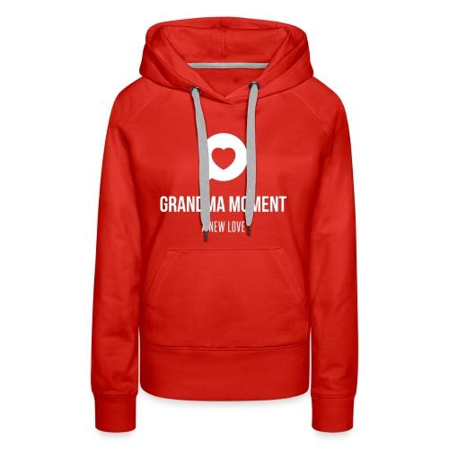 Grandma Moment - Women's Premium Hoodie