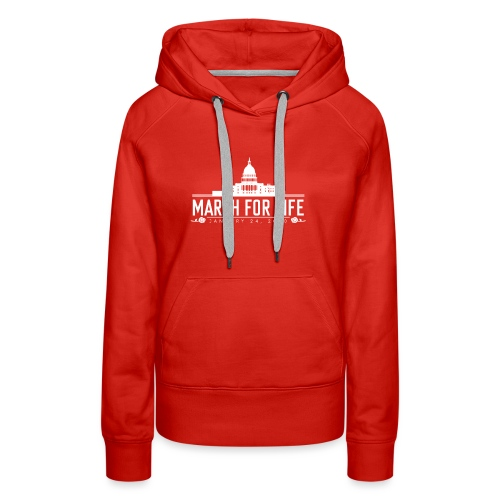 March for Life Capitol 2020 - Women's Premium Hoodie