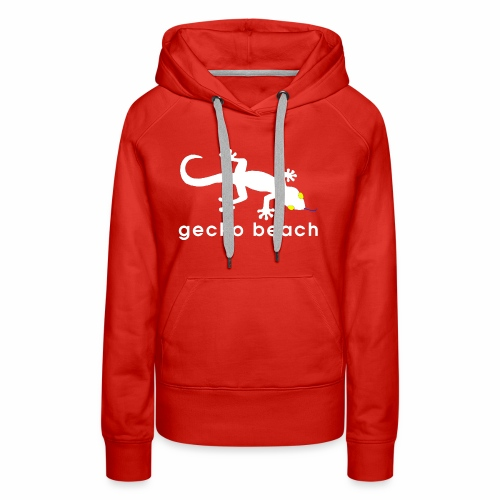 Gecko Beach - Women's Premium Hoodie