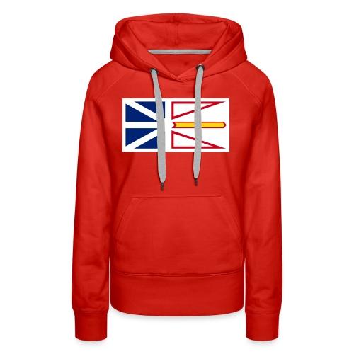 1200px Flag of Newfoundland and Labrador svg - Women's Premium Hoodie