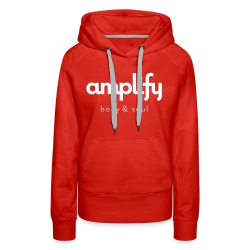 amplify logo - Women's Premium Hoodie
