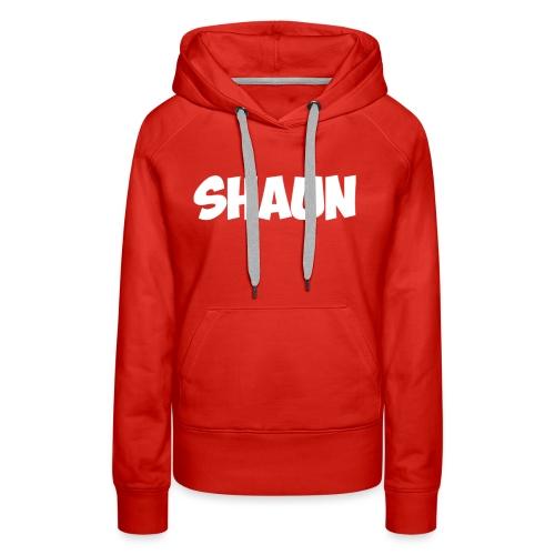 Shaun Logo Shirt - Women's Premium Hoodie