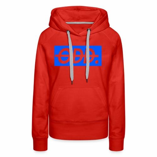 ODD blue - Women's Premium Hoodie
