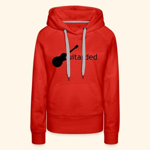 Guitarded - Women's Premium Hoodie