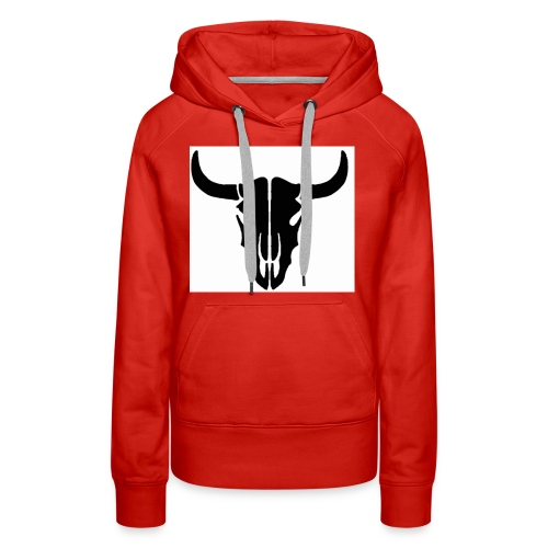 Longhorn skull - Women's Premium Hoodie
