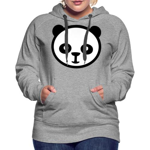 Panda bear, Big panda, Giant panda, Bamboo bear - Women's Premium Hoodie