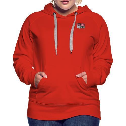 Logo, no text on back - Women's Premium Hoodie