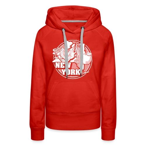 I NEW YORK LOVE - Women's Premium Hoodie