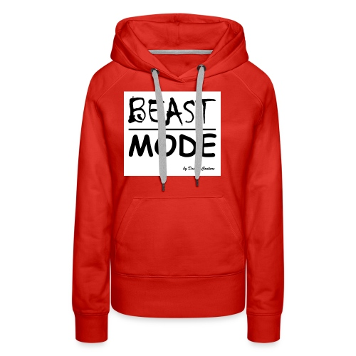 MODE, BEAST-BLACK - Women's Premium Hoodie