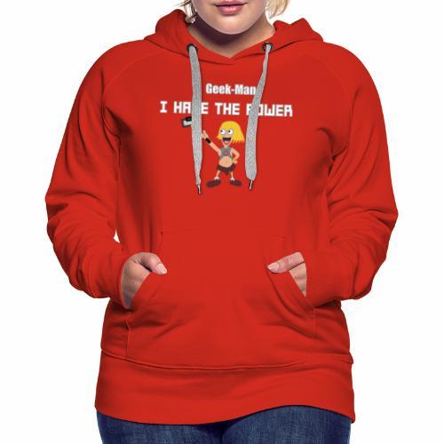 Geek-Man - Women's Premium Hoodie