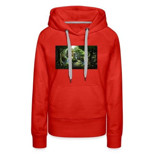 The Ancient Wild Lucian - Women's Premium Hoodie