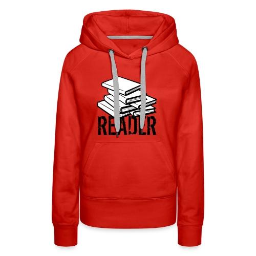 reader - Women's Premium Hoodie