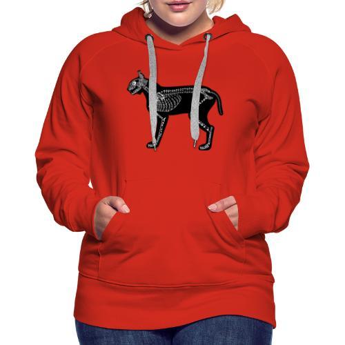 Skeleton Lynx - Women's Premium Hoodie