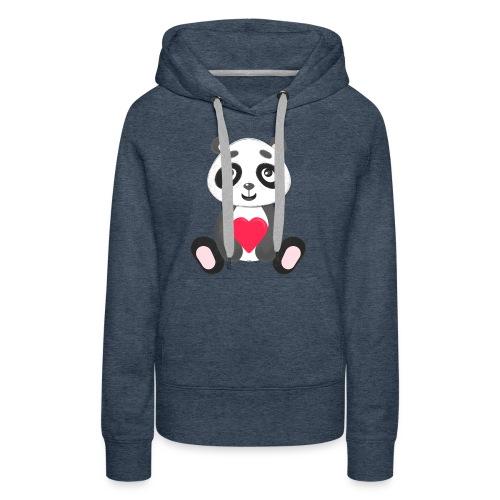 Sweetheart Panda - Women's Premium Hoodie