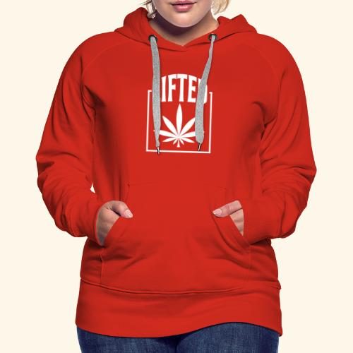 LIFTED T-SHIRT FOR MEN AND WOMEN - CANNABISLEAF - Women's Premium Hoodie