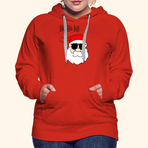 Christmas Santa HoHoHo design - Women's Premium Hoodie