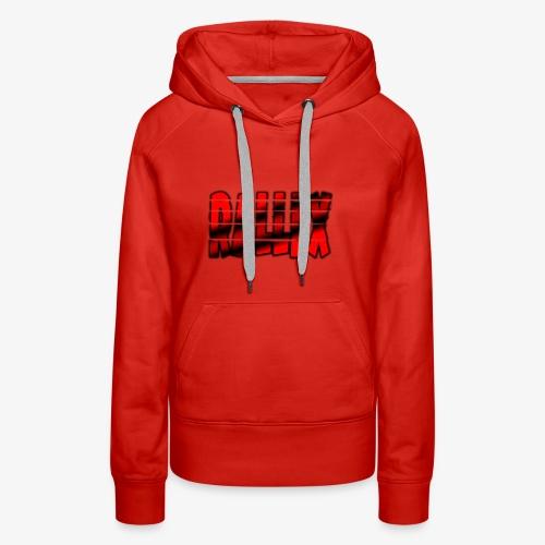Split Rallex Logo - Women's Premium Hoodie