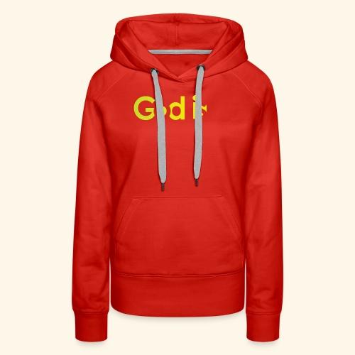 GOD IS #7 - Women's Premium Hoodie