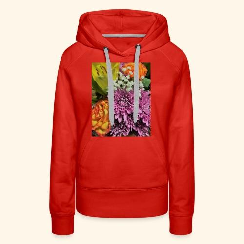 florals - Women's Premium Hoodie