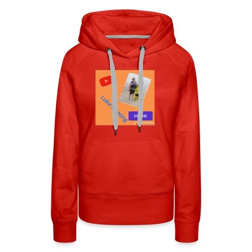 Luke Gaming T-Shirt - Women's Premium Hoodie