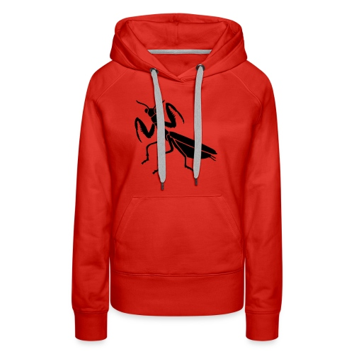 praying mantis bug insect - Women's Premium Hoodie