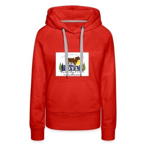 Farm logo - Women's Premium Hoodie