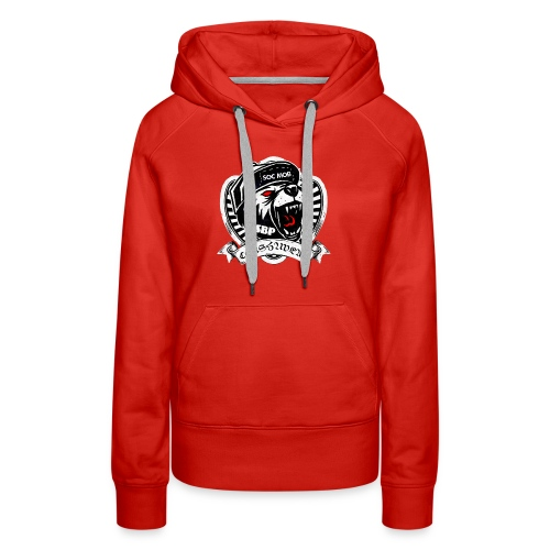 CONSHA WEAR TIGER HEAD LOGO SOC MOB SBP - Women's Premium Hoodie