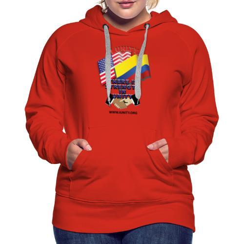 COLUMBIAN USA E02 - Women's Premium Hoodie