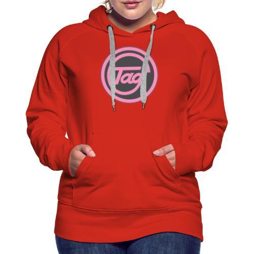 Tag grid merchandise - Women's Premium Hoodie