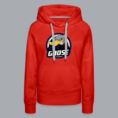 The Goose Traditional Logo - Women's Premium Hoodie