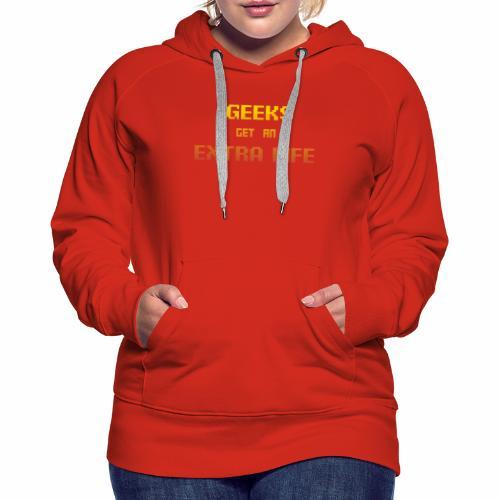 Geek Extra 1 - Women's Premium Hoodie