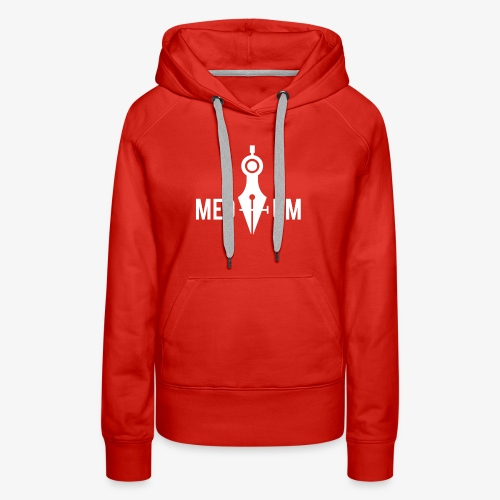 Medium (Pen Tool and Compass) - Women's Premium Hoodie