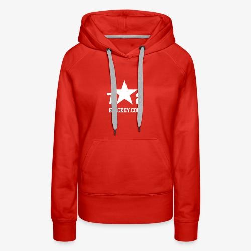 72Hockey com logo - Women's Premium Hoodie