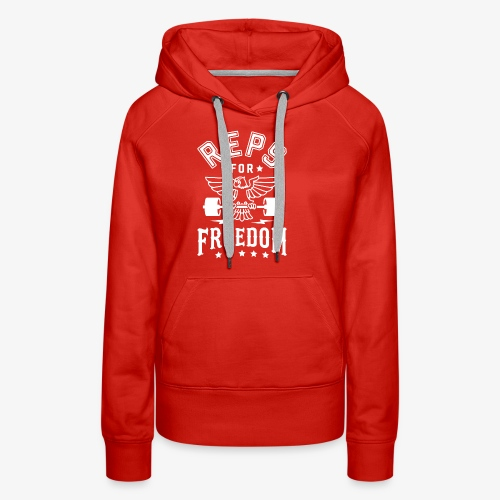 Reps For Freedom v2 - Women's Premium Hoodie
