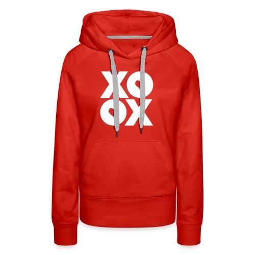 Valentine's Day XOXO - Women's Premium Hoodie