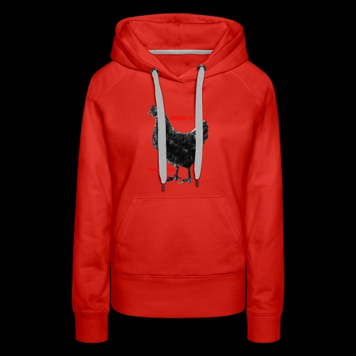 DEMONIC CHICKEN - Women's Premium Hoodie