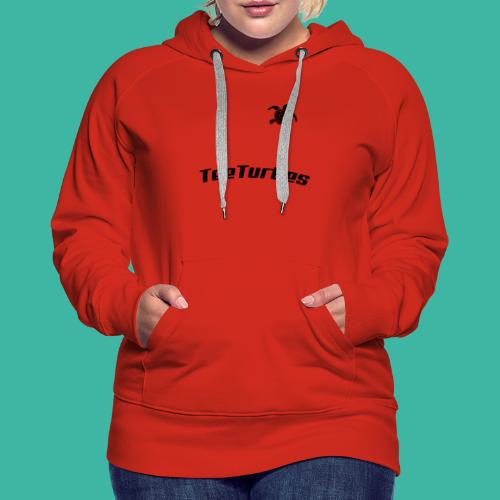 TeeTurtles (different style) - Women's Premium Hoodie