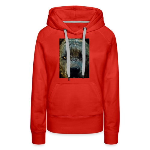 Smooth Savage - Women's Premium Hoodie