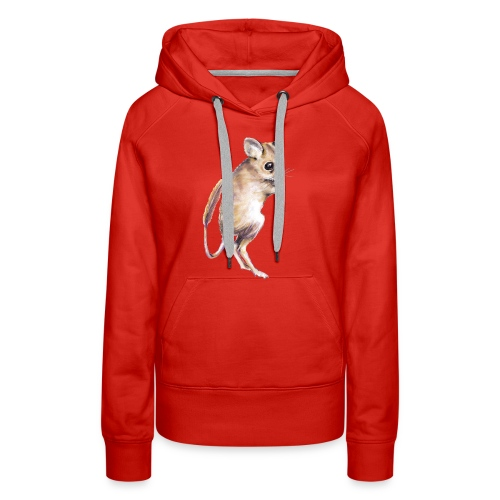 hopping mouse - Women's Premium Hoodie