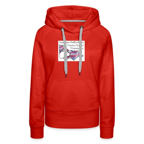 ASTCV Logo Colour on White - Women's Premium Hoodie