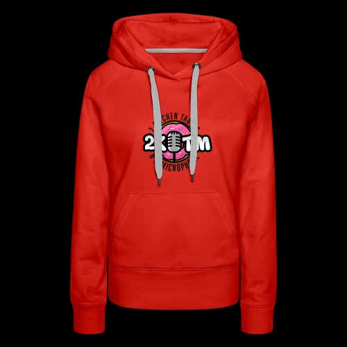Two Kitchen Tables & A Microphone - Women's Premium Hoodie