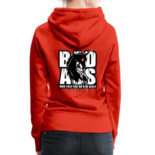 Bad Ass Unicorn - Women's Premium Hoodie