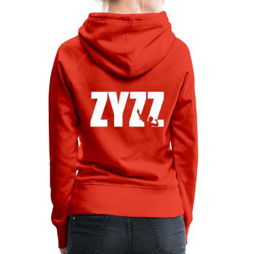 Zyzz text - Women's Premium Hoodie