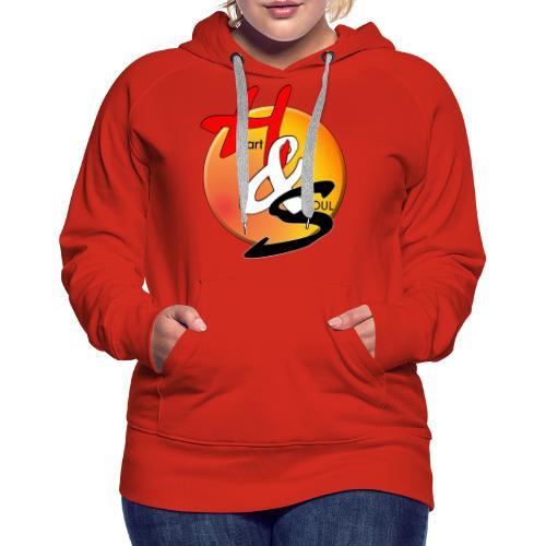 Rcahas logo gold - Women's Premium Hoodie