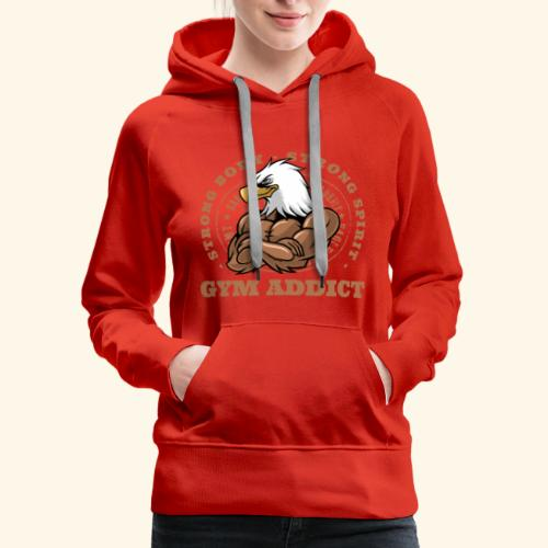 Strong Mind Strong Body - Women's Premium Hoodie